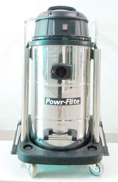 aspiradora agua polvo 60 litros powr flite importadora vargas